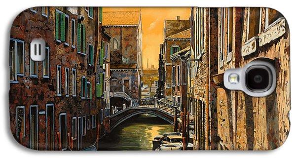 Bridges Galaxy S4 Case - Venezia Al Tramonto by Guido Borelli