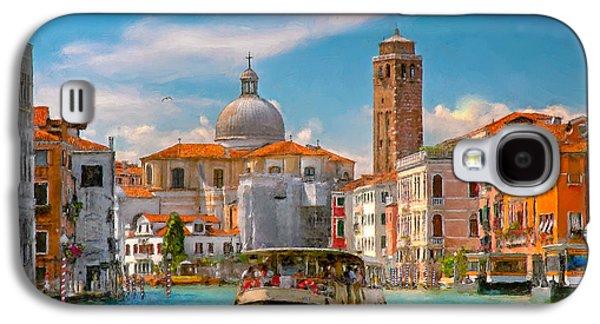 Venezia. Fermata San Marcuola Galaxy S4 Case by Juan Carlos Ferro Duque