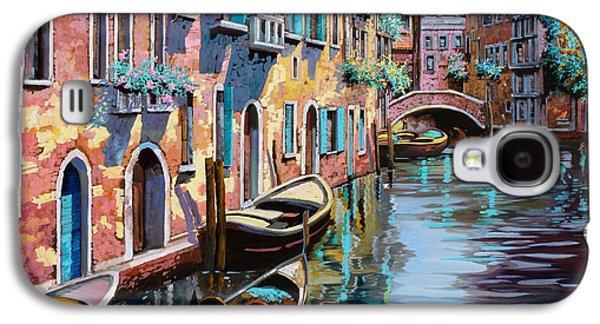 Bridges Galaxy S4 Case - Venezia In Rosa by Guido Borelli