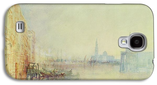 Venice - The Mouth Of The Grand Canal Galaxy S4 Case by Joseph Mallord William Turner