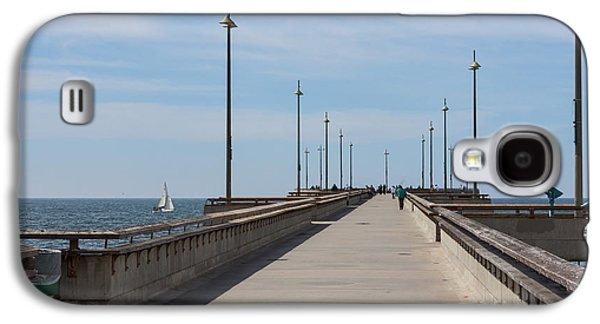 Venice Beach Pier Galaxy S4 Case by Ana V Ramirez
