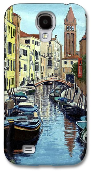 Venice Canal Reflections Galaxy S4 Case