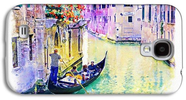 Venice Canal Galaxy S4 Case