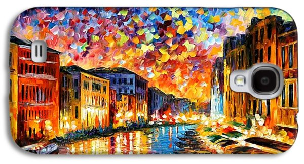 Venice - Grand Canal Galaxy S4 Case by Leonid Afremov