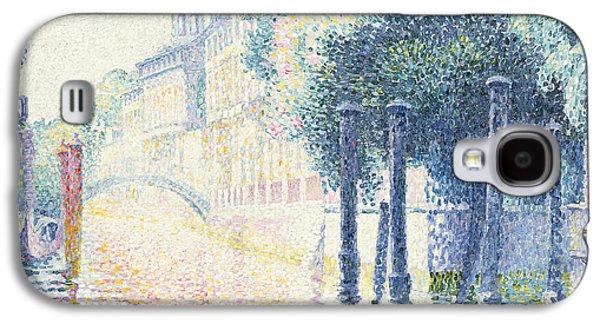 Venice Galaxy S4 Case by Henri-Edmond Cross