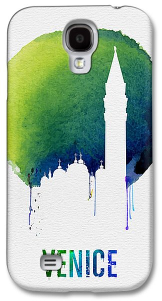 Venice Landmark Blue Galaxy S4 Case by Naxart Studio