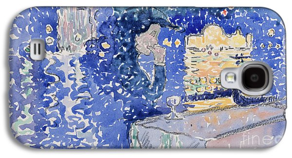 Venice  Night Of The Festival Of The Redeemer, 1903 Galaxy S4 Case by Henri Edmond Cross