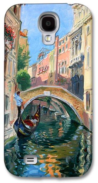 Venice Ponte Widmann Galaxy S4 Case by Ylli Haruni
