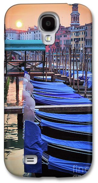 Venice Sunrise Galaxy S4 Case by Inge Johnsson