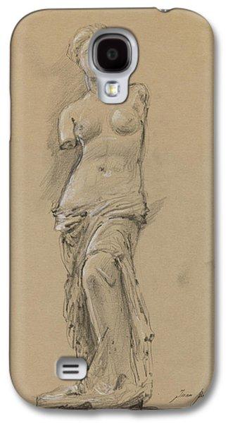 Louvre Galaxy S4 Case - Venus De Milo by Juan Bosco