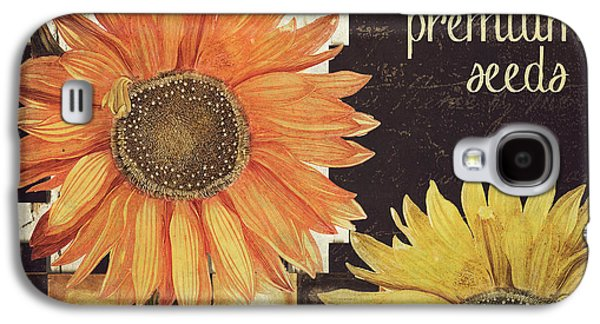 Vermont Farms Sunflowers Galaxy S4 Case