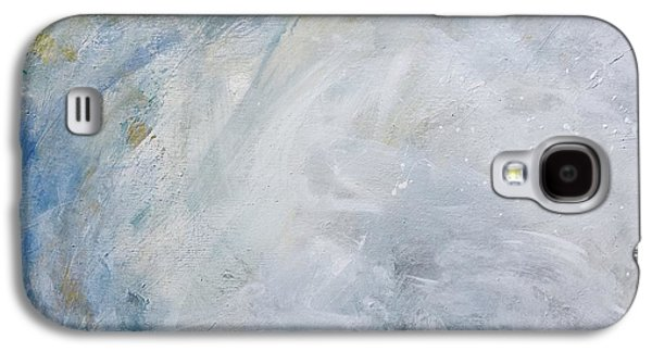 Silver Turquoise Galaxy S4 Case - Version 2 by Laurie Hein