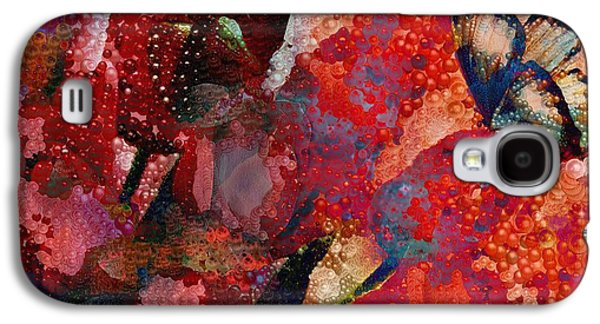 Very Fairy Tale Abstral Visual In Pearlesque Galaxy S4 Case by Catherine Lott