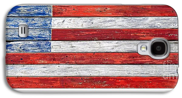 Very Old Glory Galaxy S4 Case by Olivier Le Queinec