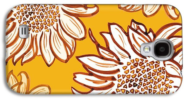 Sunflower Galaxy S4 Case - Very Vincent by Sarah Hough