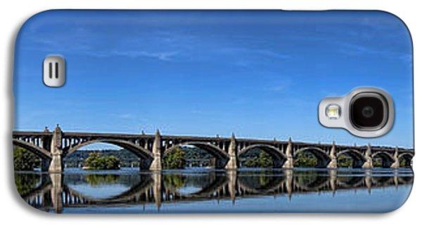 Veterans Memorial Bridge On The Susquehanna River Galaxy S4 Case by Olivier Le Queinec