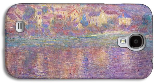 Vetheuil, Sunset, Soleil Couchant, By Claude Monet, Circa 1900,  Galaxy S4 Case