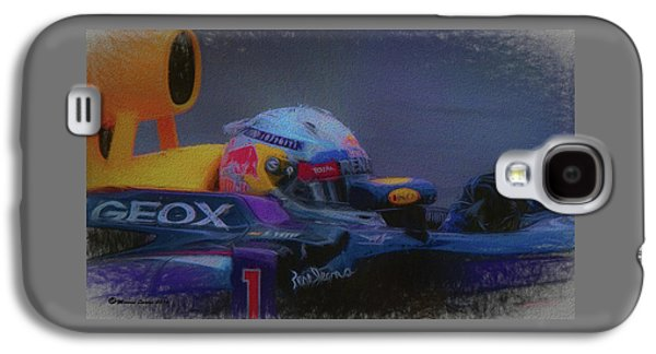 Vettel And Redbull Galaxy S4 Case