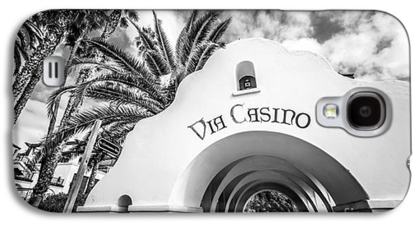 Via Casino Archway Catalina Island Photo Galaxy S4 Case by Paul Velgos