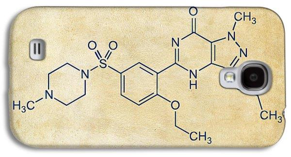 Viagra Molecular Structure Vintage Galaxy S4 Case by Nikki Marie Smith