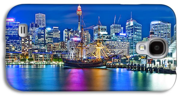 Vibrant Darling Harbour Galaxy S4 Case