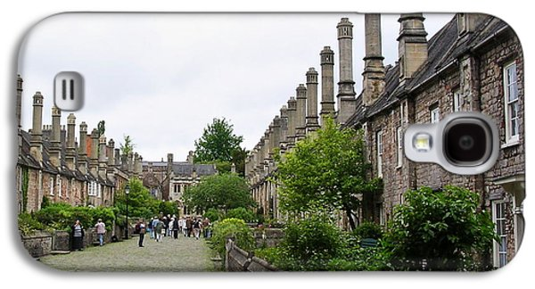 Vicars Close In Wells Galaxy S4 Case by Paul Williams