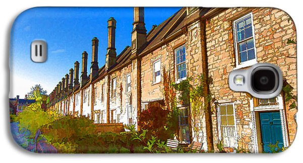 Vicars Close Next To Wells Cathedral Somerset, England Dating From The 15th Century Galaxy S4 Case by Michael Charles