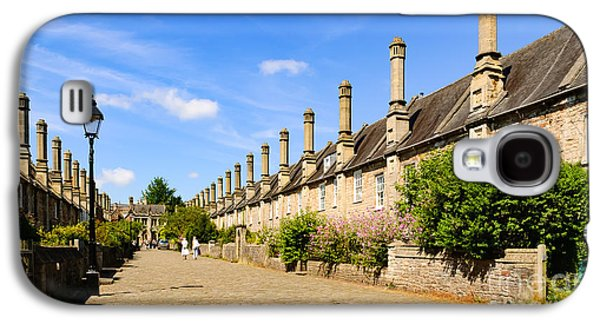 Vicar's Close, Wells Galaxy S4 Case by Colin Rayner
