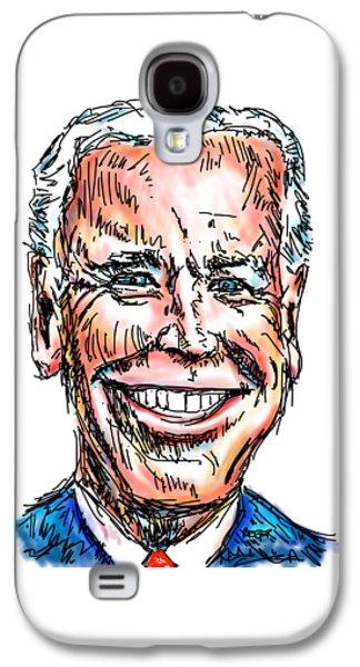 Vice President Joe Biden Galaxy S4 Case by Robert Yaeger