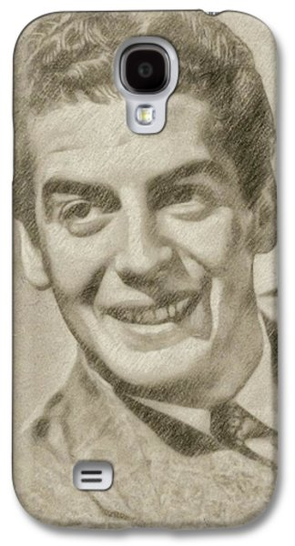 Victor Mature Vintage Hollywood Actor Galaxy S4 Case by Frank Falcon