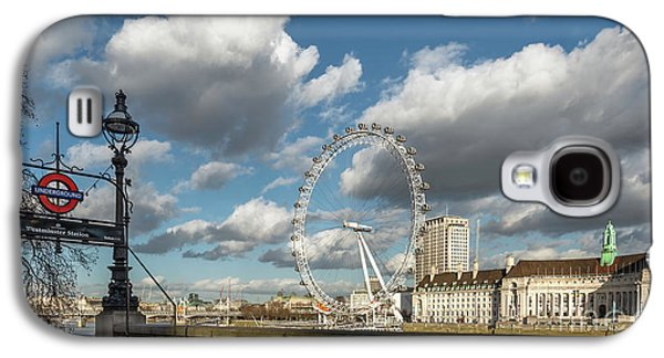 Victoria Embankment Galaxy S4 Case by Adrian Evans