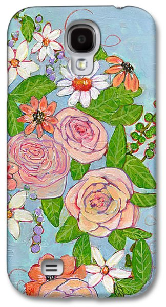 Victoria Rose Flowers Galaxy S4 Case