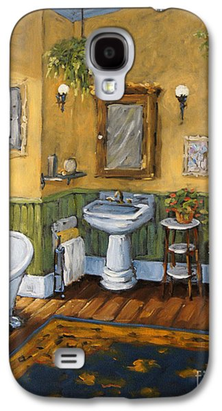 Victorian Bathroom By Prankearts Galaxy S4 Case by Richard T Pranke