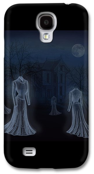 Victorian Haunting Galaxy S4 Case by Little Bunny Sunshine
