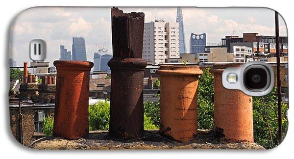Victorian London Chimney Pots Galaxy S4 Case