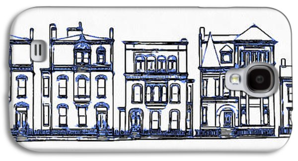 Victorian Row Houses Galaxy S4 Case