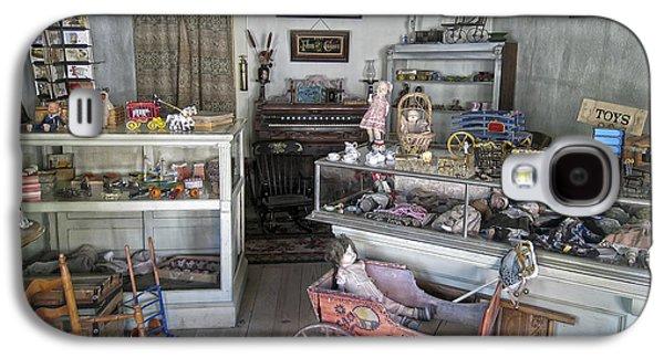 Toy Store Galaxy S4 Cases - Victorian Toy Shop - Virginia City Montana Galaxy S4 Case by Daniel Hagerman