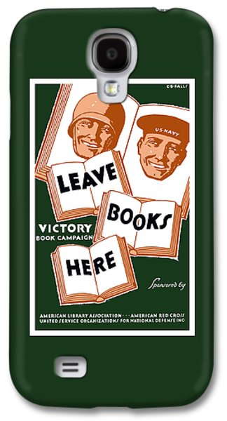 Victory Book Campaign - Wpa Galaxy S4 Case by War Is Hell Store