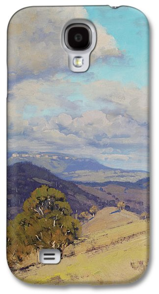 View Across The Kanimbla Valley Australia Galaxy S4 Case by Graham Gercken