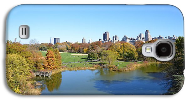 View From Central Park Ny Galaxy S4 Case by Trish Tritz
