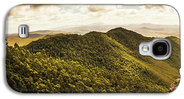 View From Halfway Up Mount Zeehan Galaxy S4 Case by Jorgo Photography - Wall Art Gallery
