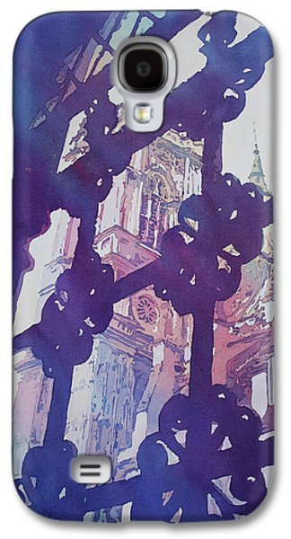View From The Cloister Galaxy S4 Case by Jenny Armitage