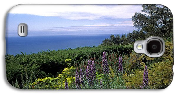 Landscape Framed Prints Galaxy S4 Cases - View from Ventana Big Sur Galaxy S4 Case by Kathy Yates