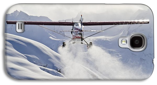 View Of A Super Cub Air Taxi At Tanaina Galaxy S4 Case by Joe Stock