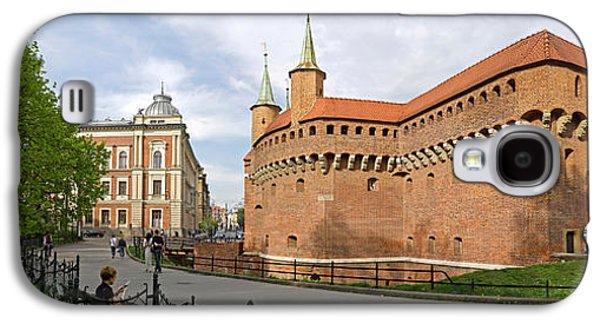 View Of Krakow Barbican, Krakow, Poland Galaxy S4 Case
