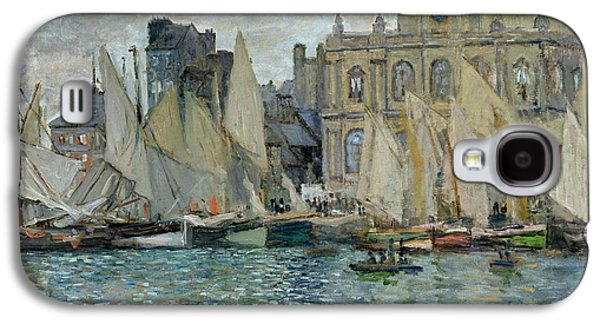 View Of Le Havre Galaxy S4 Case by Claude Monet