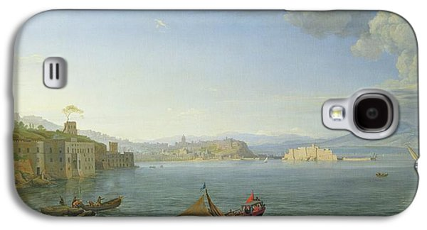 View Of Naples Galaxy S4 Case by Adrien Manglard