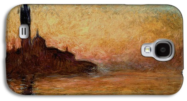 View Of San Giorgio Maggiore Galaxy S4 Case by Claude Monet