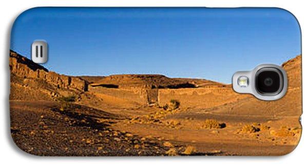 View Of Sand Dunes, Sahara Desert Galaxy S4 Case