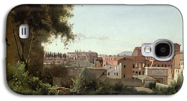 View Of The Colosseum From The Farnese Gardens Galaxy S4 Case by Jean Baptiste Camille Corot